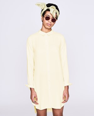 Elvine Uma Shirt dress Women Double Cream