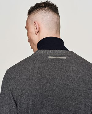 Elvine Nestor Sweatshirt Men Grey Melange
