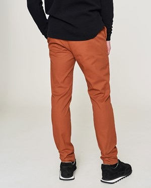 Elvine Crimson Chinos Men Brick