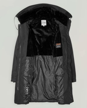 Elvine Tiril Parkas Dam Black