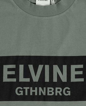 Elvine Emery T-shirt Herr Faded Green