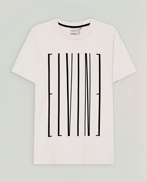 Elvine Emery T-shirt Men Chalk
