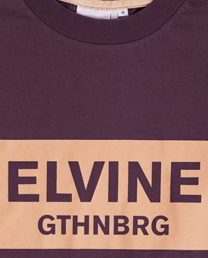 Elvine Emery T-shirt Herr Plum