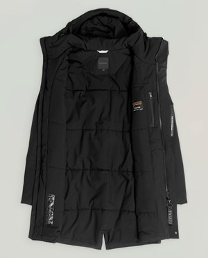 Elvine Zane Parka Men Black