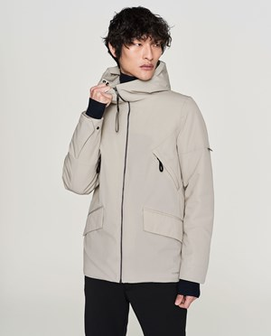 Elvine Cole Jacket Men Dove Grey