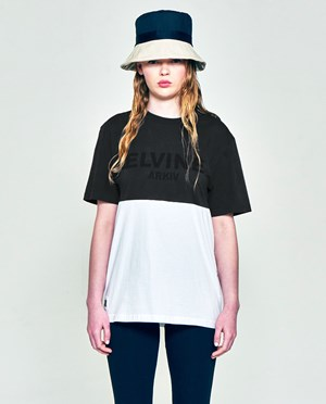 Elvine ARKIV Tee No 1 T-shirt Off Black