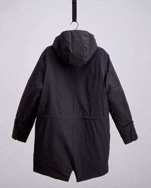 Elvine Zane winter coat Herr Black