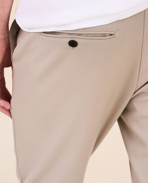 Elvine Crimson Stretch Chinos Men Dove Grey