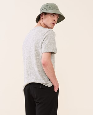 Elvine Ned T-shirt Herr Light Grey