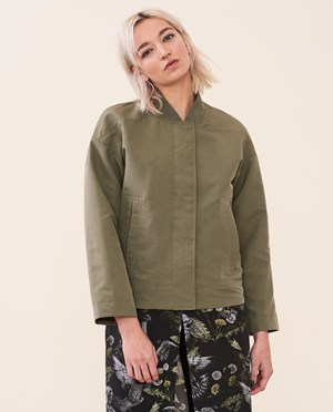 Elvine Etta Spring jacket Women Dark Sage