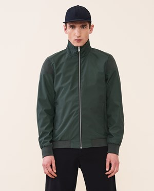 Elvine Robert Bomber jacket Men Bottle Green