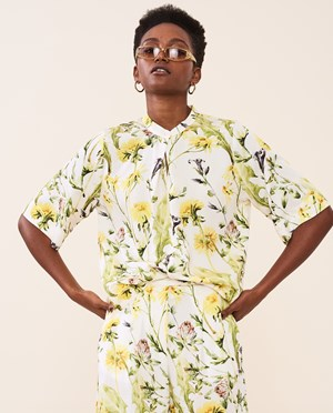 Elvine Linnie AOP Blouse Women Meadow