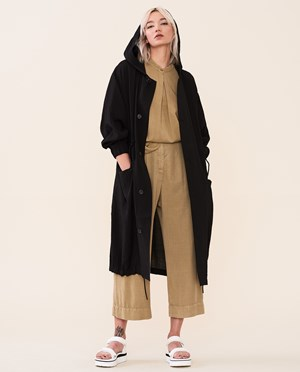 Elvine Rilla Summer parka Women Black