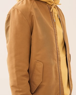 Elvine Rex Bomber jacket Men Golden Sand