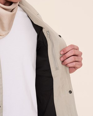 Elvine Sawyer Spring jacket Men White Moss