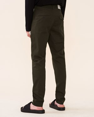 Elvine Crimson Chinos Men Army Green