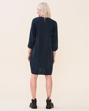 Elvine Lynxie Dress Women Dark Navy