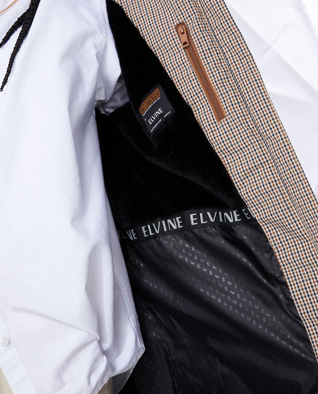 Elvine Naemi Check Jacka Brown Check Elvine Shop