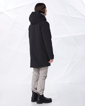 Elvine Thames Parka Men Black