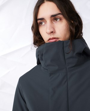 Elvine Zane Parka Men Coal
