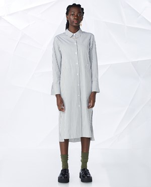Elvine Laleh Shirt dress Women Green Stripe