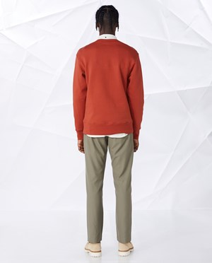 Elvine Yakim College-sweater Men Red Ochre