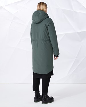 Elvine Evin Parka Women Faded Green