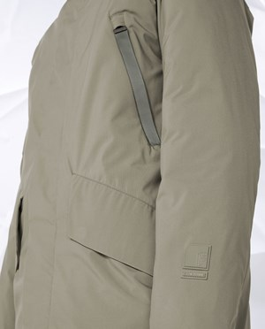 Elvine Connor Parka Men Moss