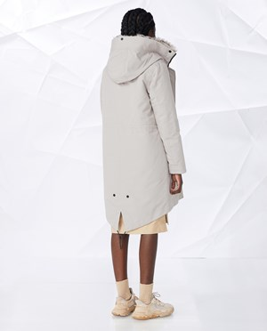 Elvine Essa Parka Women Dove Grey