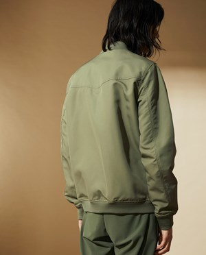 Elvine Rex Bomber jacket Men Dark Sage
