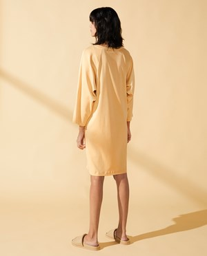 Elvine Eleena Dress Women Biscotti Yellow