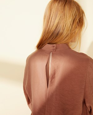 Elvine Ninnie Blouse Women Mocha Mousse