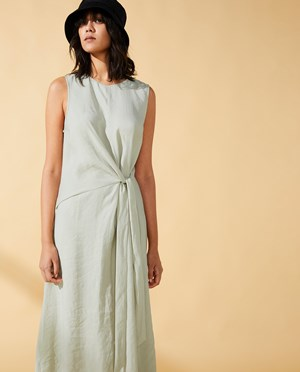 Elvine Jussie Dress Women Pistachio Green