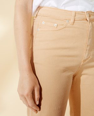 Elvine Bilja 5-pocket pants Women Biscotti Yellow